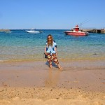 at goree island-senegal