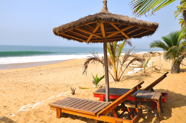 beachfront hotel in cote d'ivoire