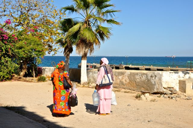 beautiful goree island senegal