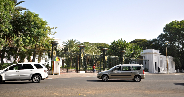 house of senegal president