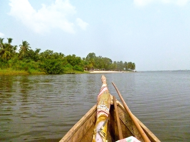 boat ride in lake togo