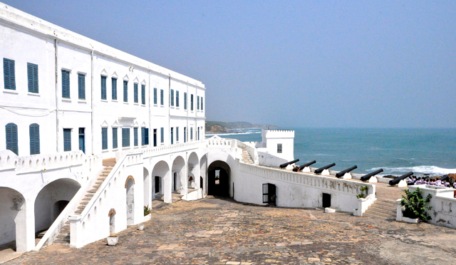 edgymix at cape coast castle