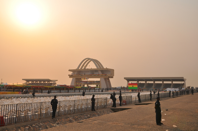 independent square at ghana