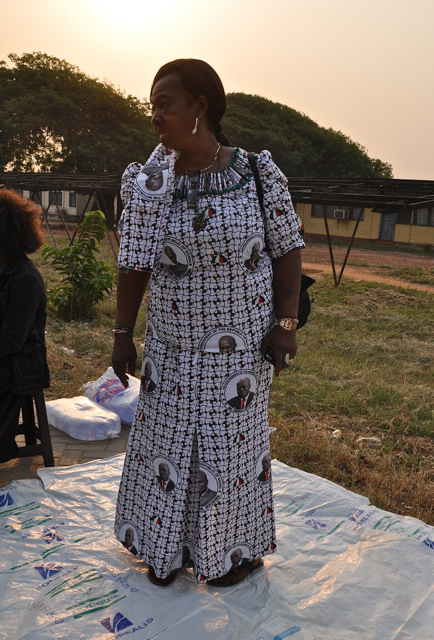 john mahama dress