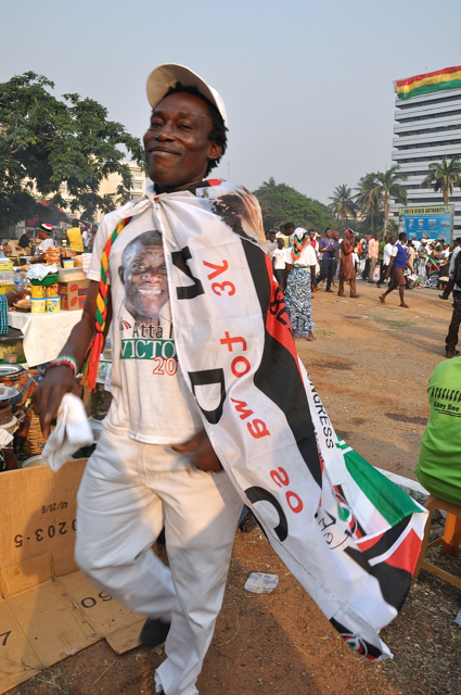 john mahama's fan
