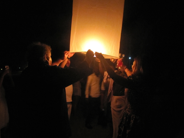 lantern launching for new yr in ghana