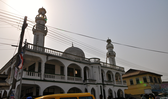 mosque in cape coast-ghana