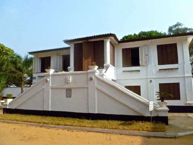Portuguese building in ouidah