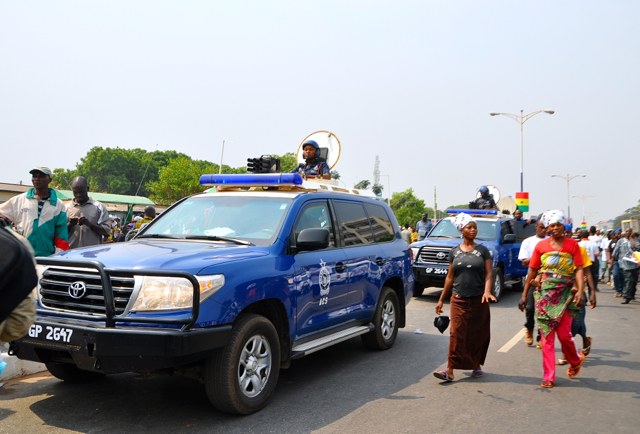 security at president day-ghana