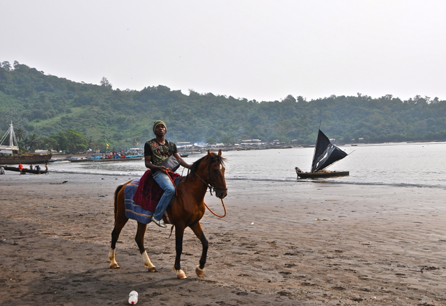 beach at limbe-cameroon