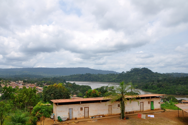little town in gabon