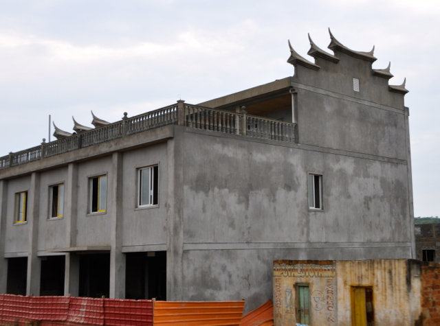 chinese building in Luanda, angola