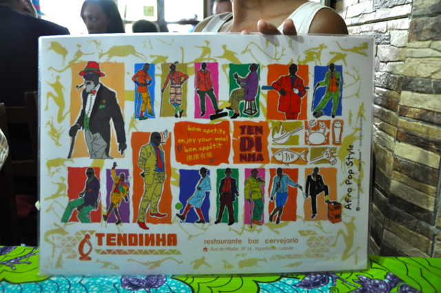 collage of african men's clothings in luanda
