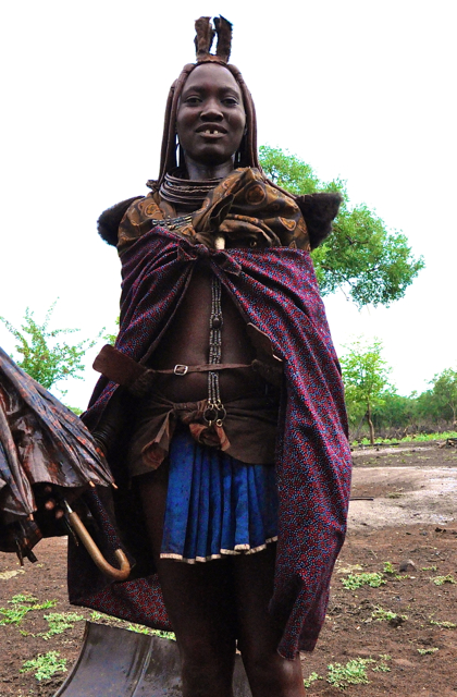 grown up tribal women in nambia