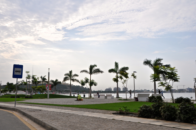 harbour in luanda, angola