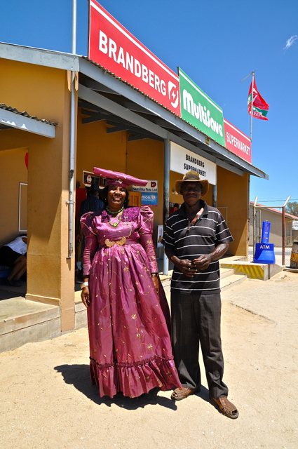 herero lady and man-nambia