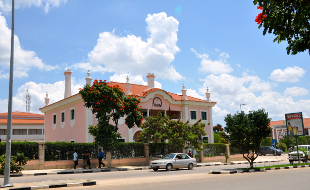 lubango city center
