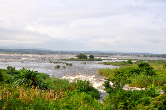 rapid along congo river