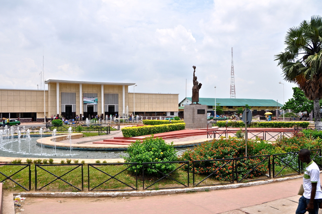 train station in brazzaville