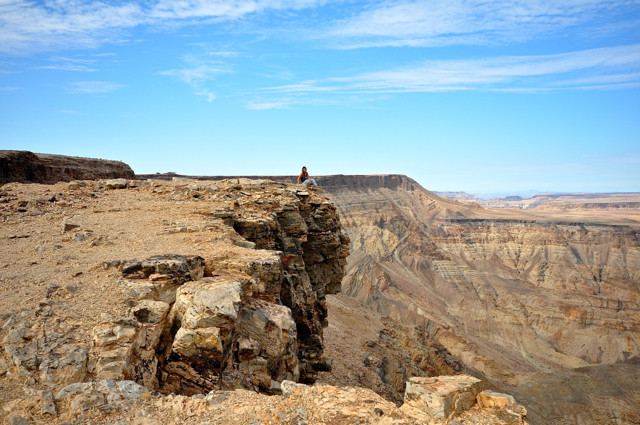 dgymix at Fish river canyon, Namibia