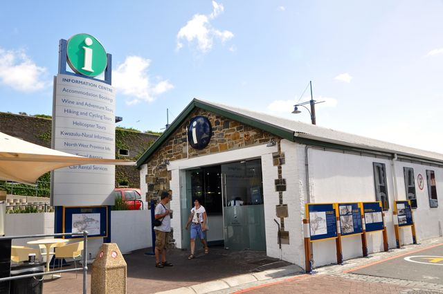 tourist information center at cape town