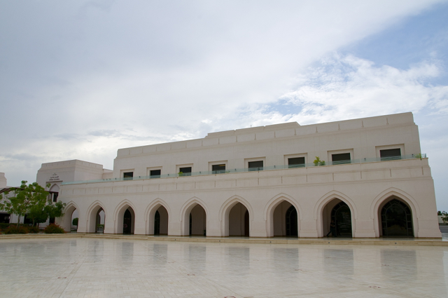 beautiful opera house, oman