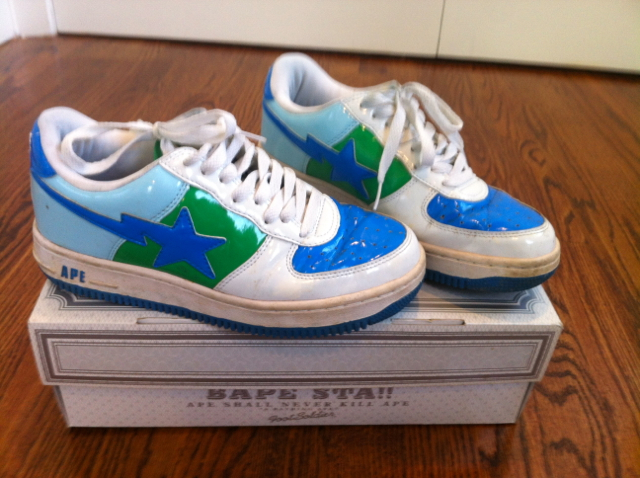bathing ape shoes