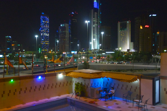 hotel view of kuwait city