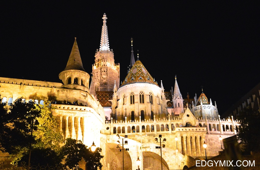 budapest-hungary-night tour