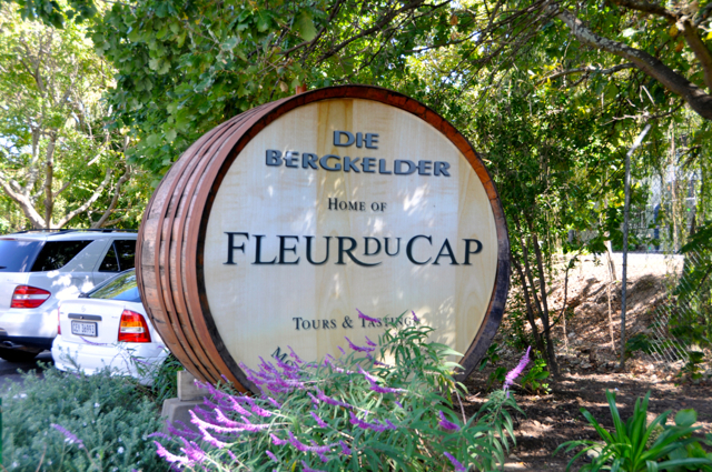 Fleur Du Cap Winery at cape town, south Africa