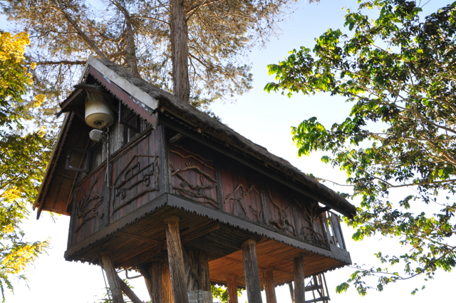 tree house at lac hotel, madagascar