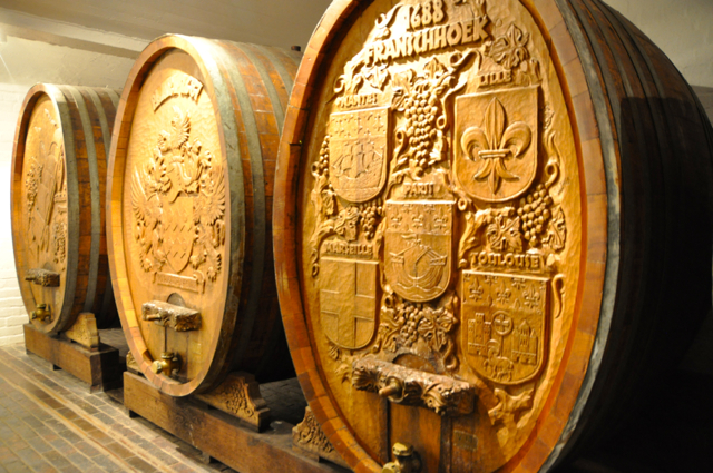 wine museum at cape town, south africa