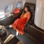 Etihad First Class and First Class compartment